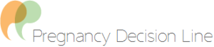 pregnancy decision line logo