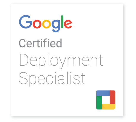 google deployment certified